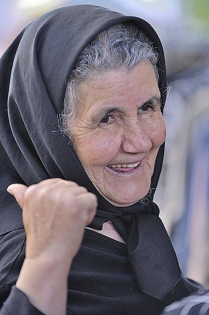 Elderly Cretan woman