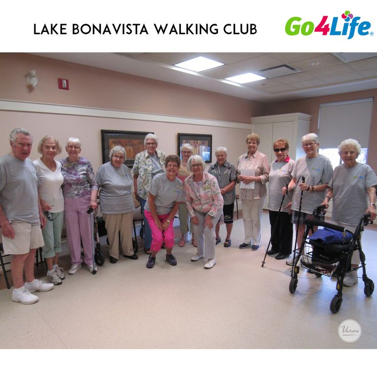 The residents of Lake Bonavista Village have jumped into the Go4Life Walking Program with both feet! We're walking our way to better health while enjoying the beautiful weather and gorgeous scenery in our community.