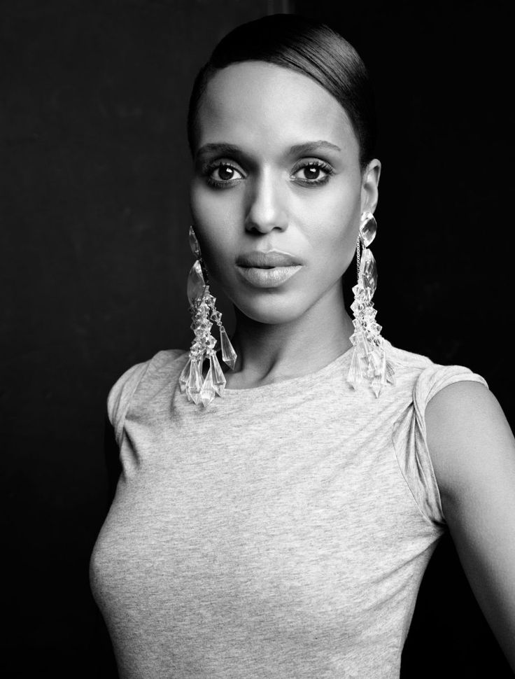 Kerry Washington (1977) - American actress. Photo © Horst Diekgerdes