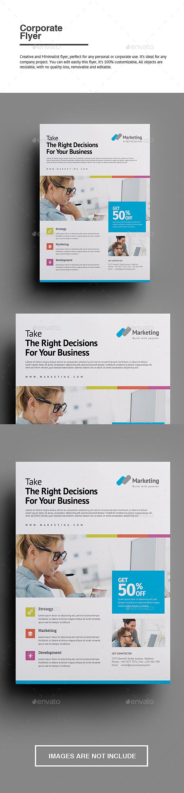 top ideas about slick sheets adobe business corporate flyer corporate flyer graphicriver envato graphicdesign
