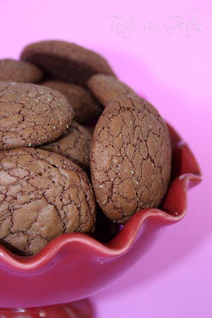 Tartas sin Gluten .....365 dias sin gluten: ❤ Galletas de Nutella ❤