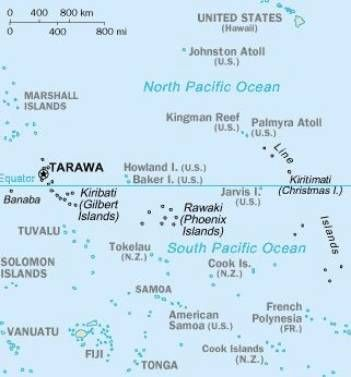 Tarawa Kiribati Gilbert islands