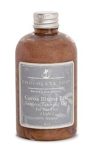 Cocoa Glow by Chocolate Sun is an all-natural, organic self-tanning gel.