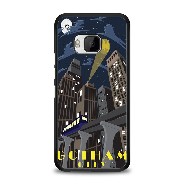 Gotham Batman City HTC One M9 Case | yukitacase.com