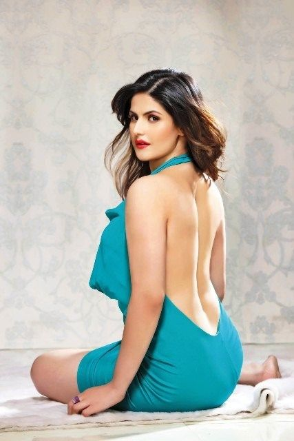 """""""I Cannot Expect Salman Khan To Be Around Me 24×7"""" - Zareen Khan On Bollywood, Combating Her Fat Woes & Beyond : MagnaMags"""