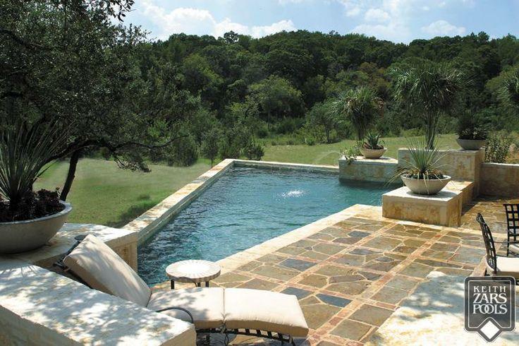 Love This Geometric Pool In San Antonio Keith Zars Pools San Antonio Custom Swimming Pools