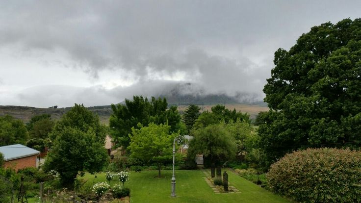 Harrismith Free State Platberg when the cold front moves in
