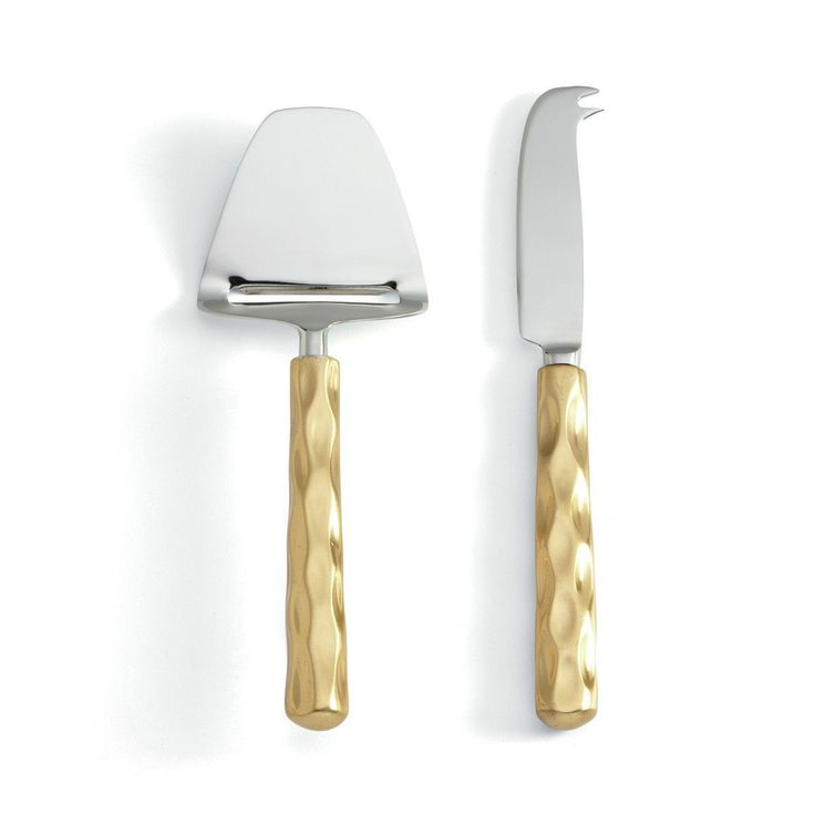 Truro Gold Cheese Knife Set