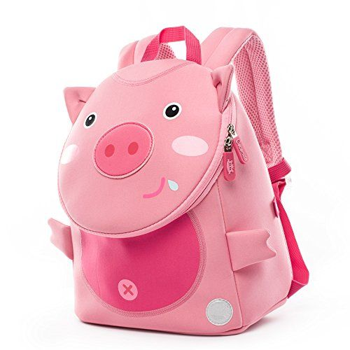 f1f055a83b36 New Cocomilo Toddler Pig Backpack Waterproof Kids School Bag Cute Animal Baby  Bag with Anti Lost Leash online.   19.95  topbrandsclothing Fashion is a ...