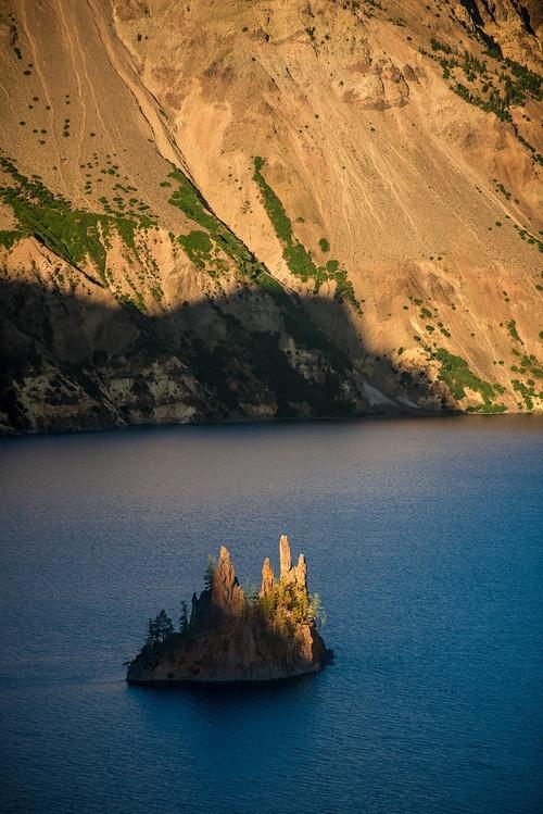 Phantom Ship - Crater Lake, Oregon