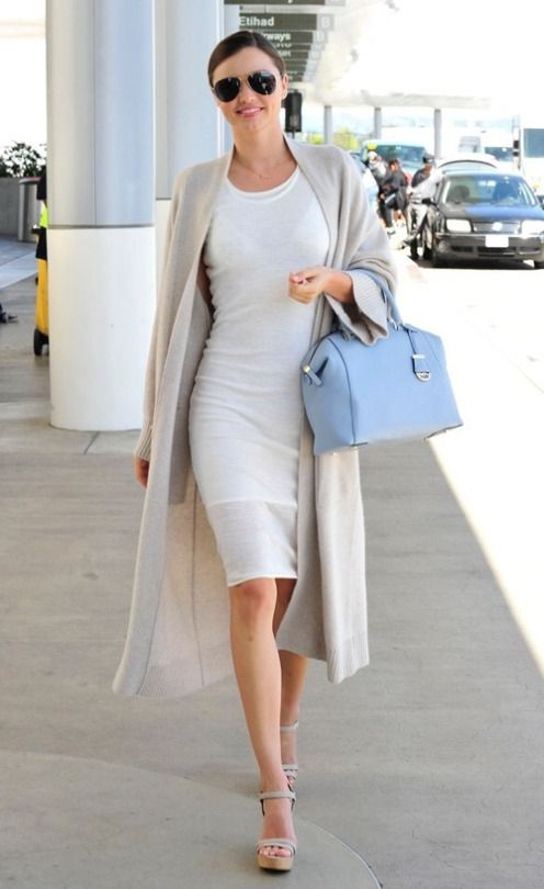 #miranda #kerr #style #street #fashion #clothes