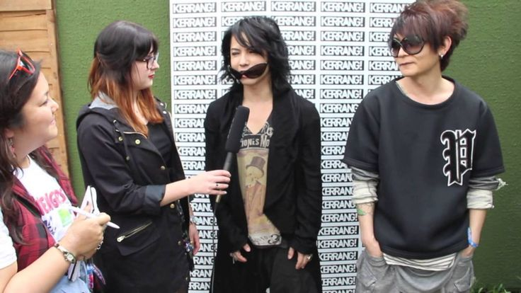 Kerrang! Download Podcast: VAMPS Download Festival 2014. Day 2: VAMPS' Hyde and K.A.Z gear up for their Donnington debut. If you're watching this on mobile, you may experience some sound problems. Please use headphones while we fix the problem!