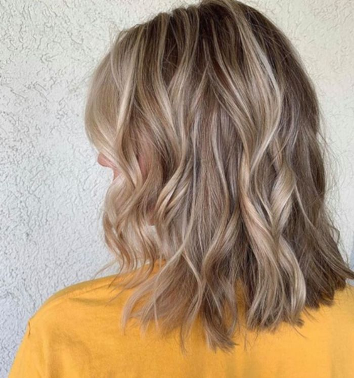 Sand Storm Blonde Is The New Low Maintenance Hair Color Trend To Try Sand Storm Blonde Is The New Low Maintena In 2020 Low Maintenance Hair Hair Color Sand Blonde Hair