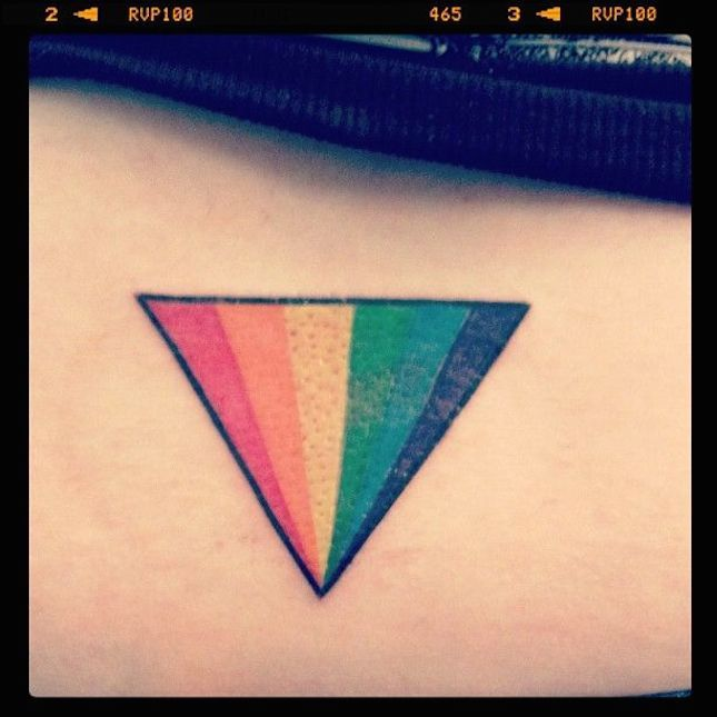 Fall in Love With These 13 Beautiful Pride Tattoos via Brit + Co