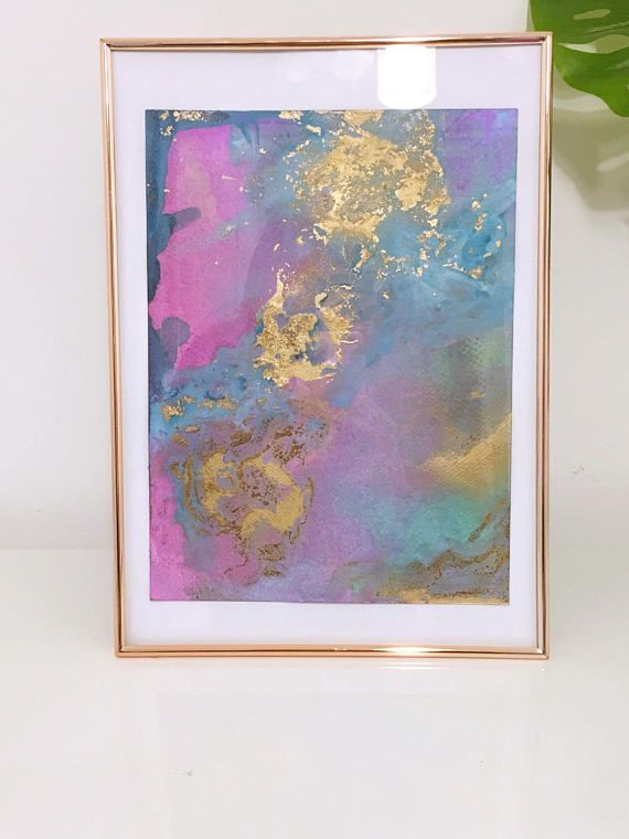 Original Abstract Painting 'Third Rock From The Sun'