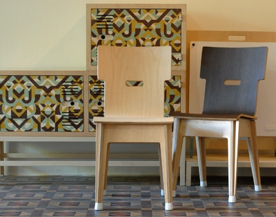 Din chairs by RAW studios