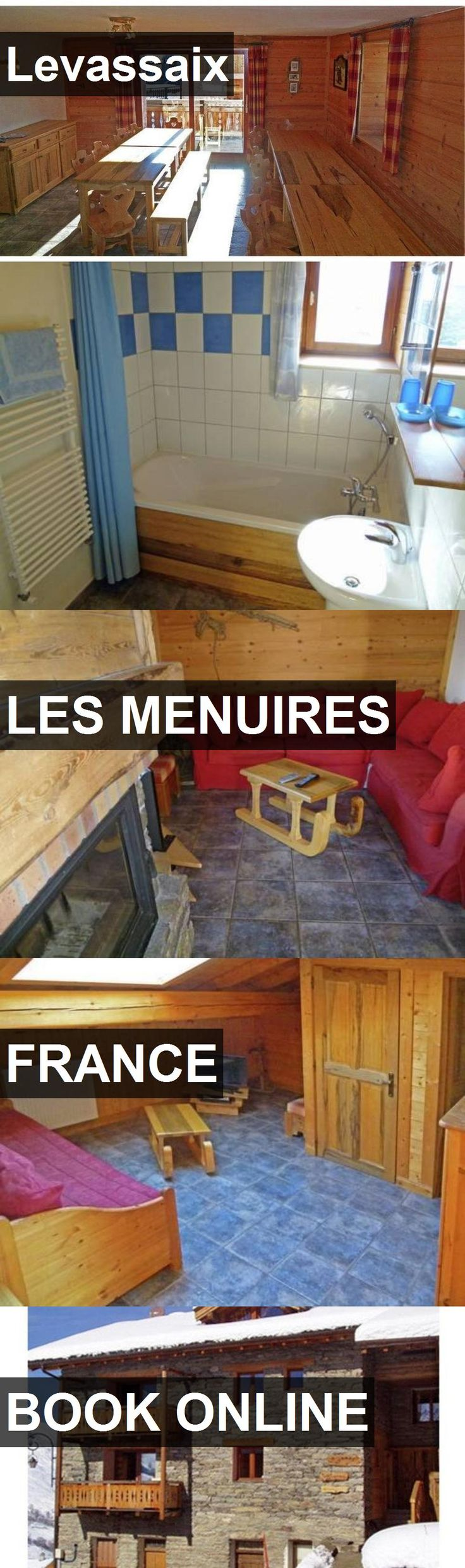 Hotel Levassaix in Les Menuires, France. For more information, photos, reviews and best prices please follow the link. #France #LesMenuires #travel #vacation #hotel