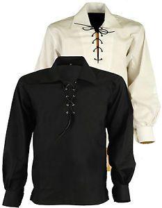 Scottish Highland Jacobite Jacobean Ghillie Kilt Shirt Tartan Sporran | eBay