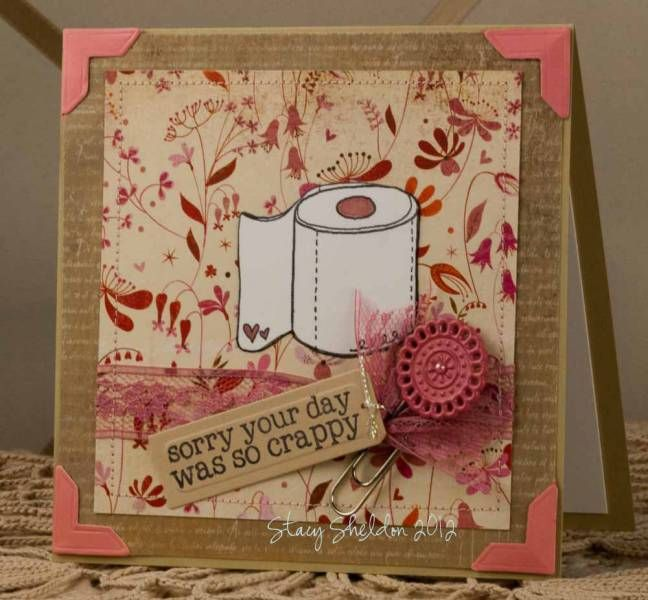 Crappy Days {Floral} by JBgreendawn - Cards and Paper Crafts at Splitcoaststampers
