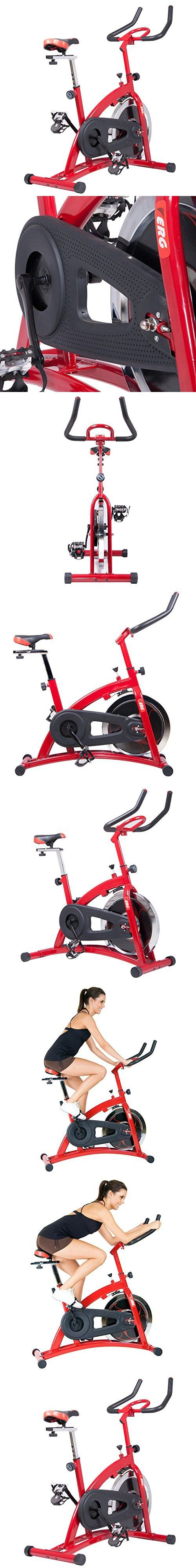 Body Champ Pro Cycle Trainer, Red/Black