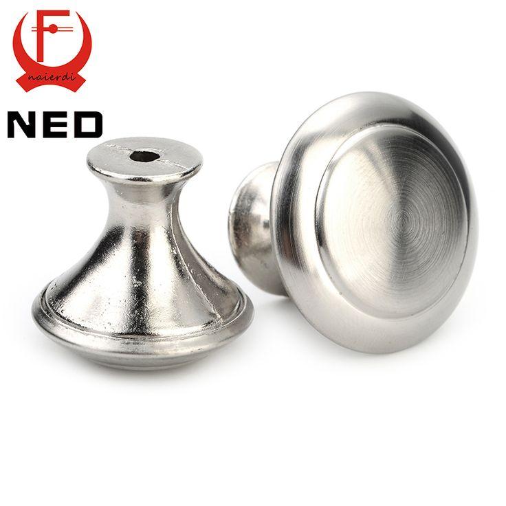 $0.66 (Buy here: https://alitems.com/g/1e8d114494ebda23ff8b16525dc3e8/?i=5&ulp=https%3A%2F%2Fwww.aliexpress.com%2Fitem%2FNED-Brand-Diameter-24mm-30mm-Cabinet-Stainless-Steel-Circle-Round-Handles-Drawer-Furniture-Wardrobe-Knobs-Pull%2F32431715160.html ) NED Diameter 24mm 28mm Cabinet Handle Stainless Steel Circle Round Handles Drawer Furniture Wardrobe Knobs Pull Handle Hardware for just $0.66