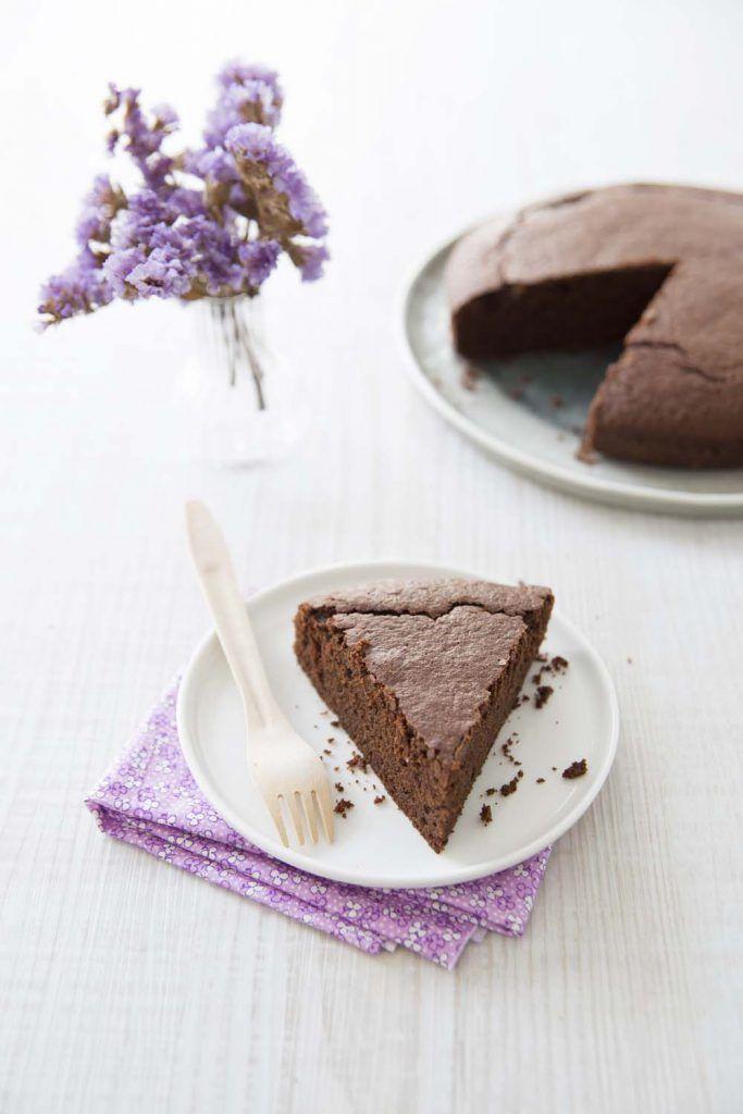 Gâteau au chocolat moelleux, sans gluten ni lactose