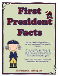 President Game, Social Studies Game, President Activity, US Presidents Quiz Game, United States President Quiz Game