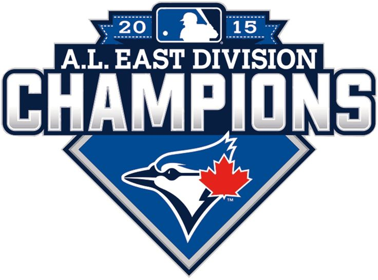 Toronto Blue Jays Champion Logo (2015) - Toronto Blue Jays 2015 AL East Division Champions logo