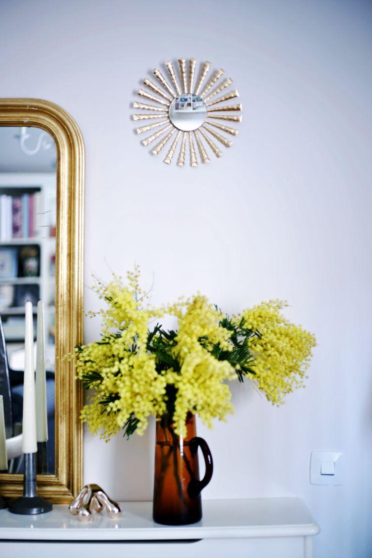 espejos dorados decoracin