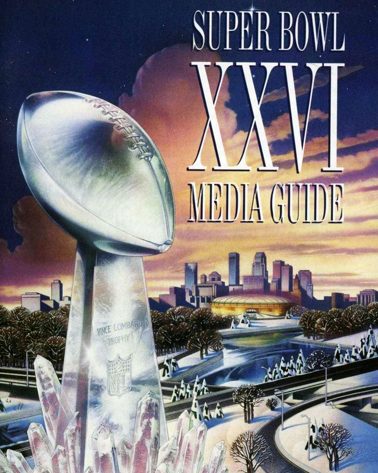 "Super Bowl XXVI (Super Bowl 26) was held at the Metrodome in 1992, just 26 years before Super Bowl LII in Minneapolis. The theme back then was Wintertainment. In 2018 the theme was ""Bold North"""