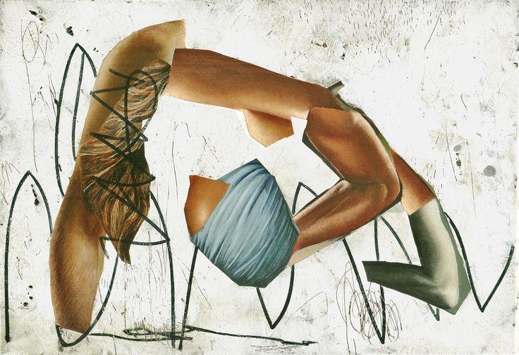 asha zero ' via type ' acrylic on board 15 x 22 cm 2016 http://barnardgallery.com/exhibitions/nano/press-release/ #ashazero #barnardgallery #painting