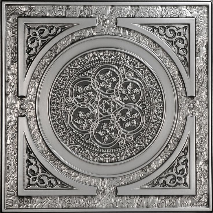 """frame for doors - Decorative Ceiling Tiles, Inc. Store - Steampunk - Faux Tin Ceiling Tile - 24""""x24"""" -"""