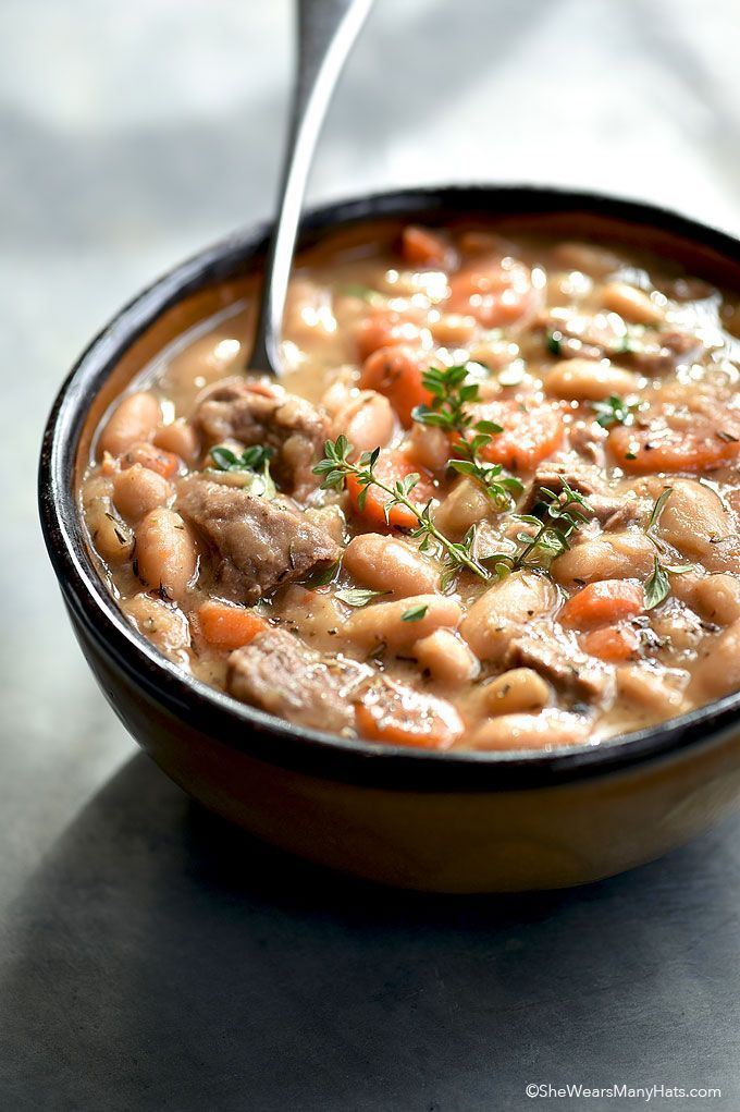 Beef and Bean Soup Recipe recipe