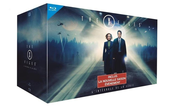 The X-Files - L'intégrale des 10 saisons [Édition Limitée]: DVD & Blu-ray : Amazon.fr