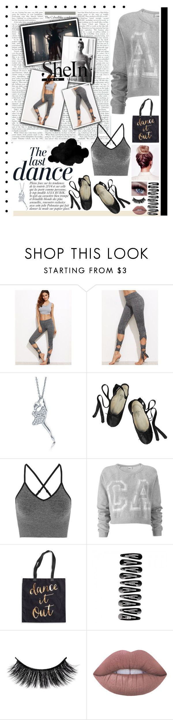 """D.A.N.C.E"" by rhiannonpsayer on Polyvore featuring Anja, BERRICLE, Ballet Beautiful, Ivy Park, Lovisa, Rosanna and Lime Crime"