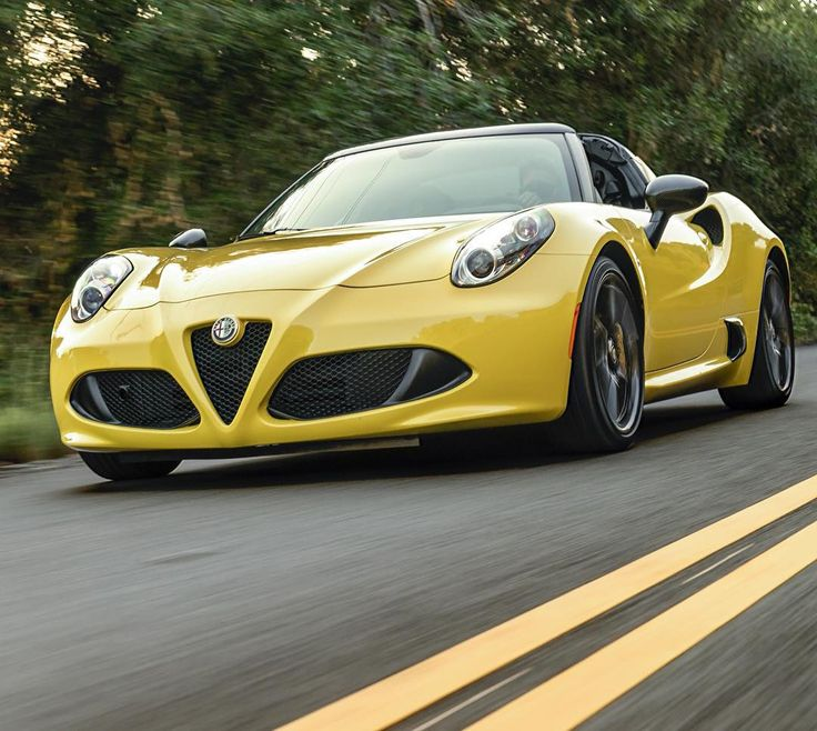 Fast track.  #4CSpider #AlfaRomeo #Alfa #AwakenTheDrive #Convertible #SportsCar #SuperCar #ItalianStyle #ItalianCars #Auto #Automotive #Drive #InstaCar #CarsOfInstagram #mondaymotivation