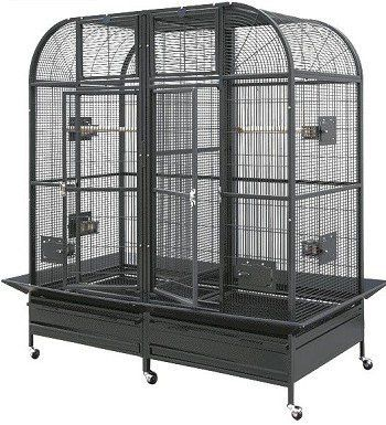 HQ 64x32 Double Macaw Cage w/ Divider