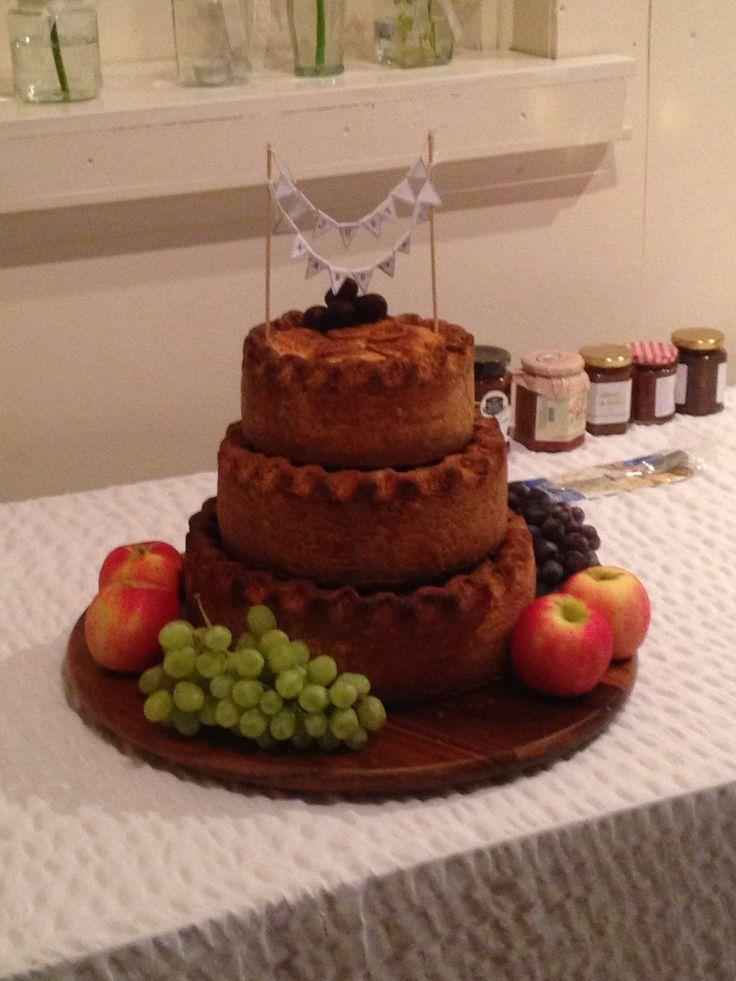 Pork pie wedding cake  An alternative to the traditional wedding cake
