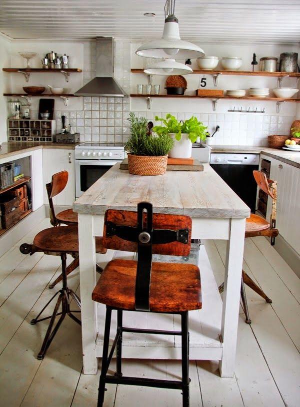 virlova deco una cocina retro vintage al detalle