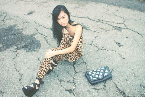 Leopard Jumpsuit, Topshop Wisteria Wedges