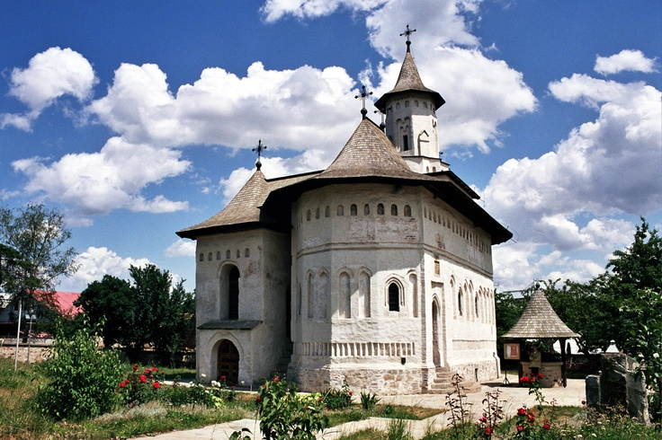 Church in Suceava, Romania