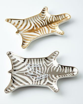 For the Decor-Obsessed: Jonathan Adler Zebra Dish