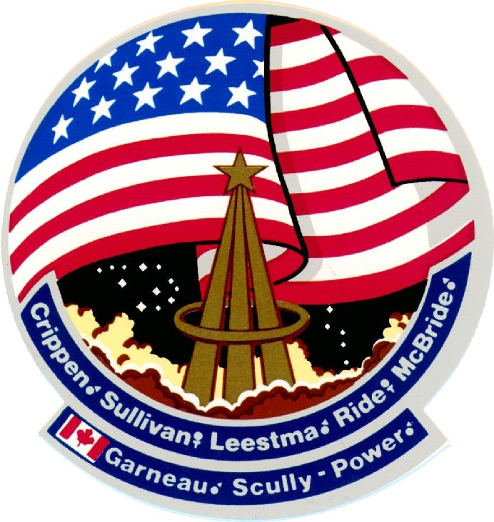 #13  (STS-41-G)  October 5, 1984	 Challenger	7	08d 05h		Kennedy	Earth Radiation Budget Satellite deployment; First flight of two women in space Ride and Sullivan; First spacewalk by US woman, Kathryn Sullivan; First Canadian in space Marc Garneau