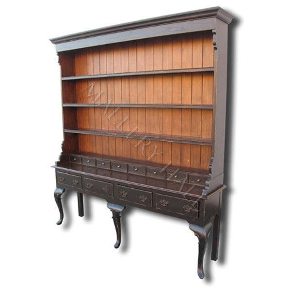 Dark Wood Welsh Dresser: 17 Best Images About Blackwash Furniture On Pinterest