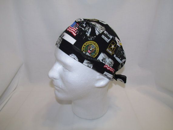 US ARMY Surgical Scrub Hat by TipTopLids on Etsy, $10.00