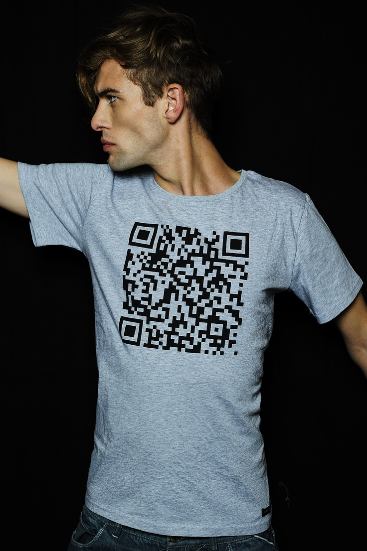 #addmyberry #brand #tee #T-shirt #hype #rocknroll #belgian #sexy #qr #code #fashion #secret #message
