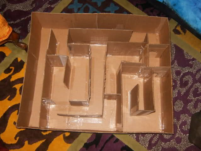 Homemade hamster cage make walls tall enough they can 39 t for How to build a hamster cage