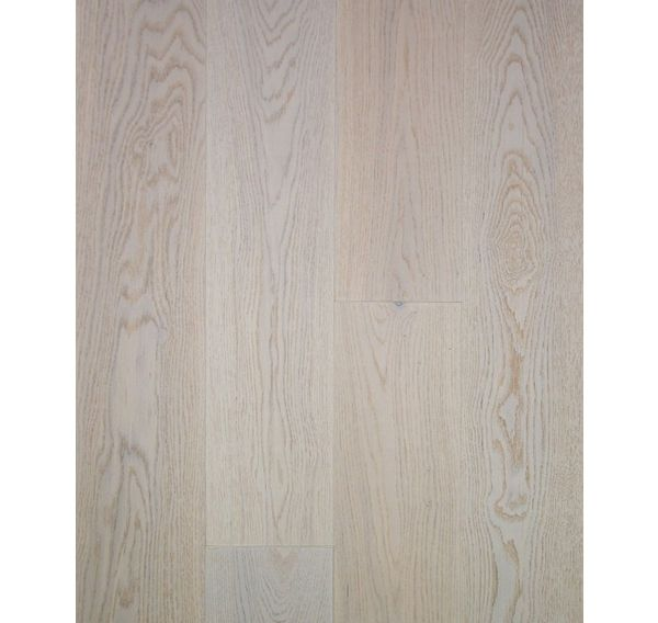 Darwin 145mm FSC Oak Plank G5 Click Prussian White Lacquered Engineered