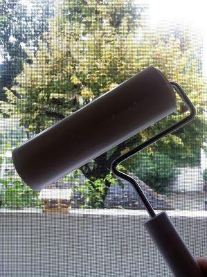 Fliegengitter reinigen... How to clean fly screens... Come pulire le zanzariere... Comment nettoyer les moustiquaires...