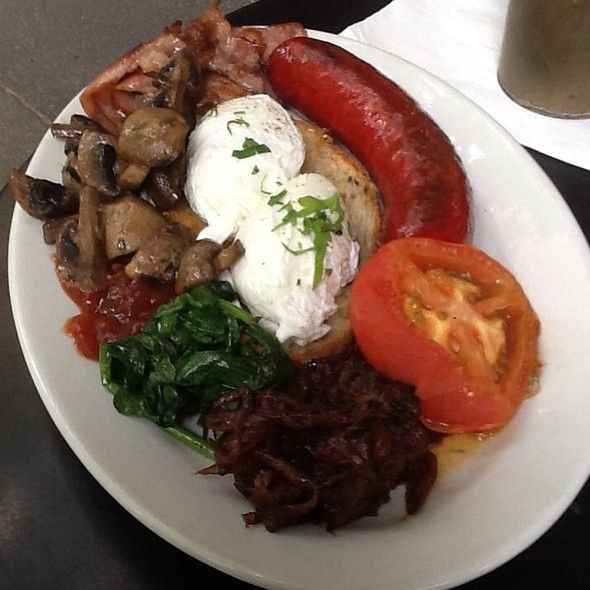 Big Breakfast  at 65 Degrees in Melbourne, Victoria, Australia - great at anytime of the day!
